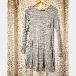 Grey Old Navy long sleeves dress XS